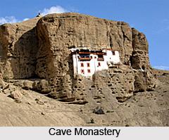 Cave Monastery, Shergol, Kargil, Jammu & Kashmir