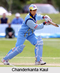 Chanderkanta Kaul, Indian Woman Cricketer