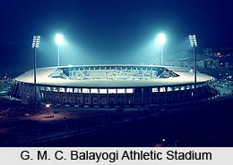 G. M. C. Balayogi Athletic Stadium, Hyderabad, Telangana