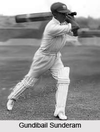 Gundibail Sunderam, Indian Cricket Player