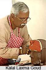 Kalal Laxma Goud, Indian Painter