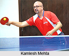 Kamlesh Mehta , Indian Tennis Player