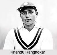 Khandu Rangnekar, Indian Cricket Player