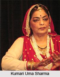 Kumari Uma Sharma, Indian Kathak Dancer