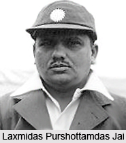 Laxmidas Purshottamdas Jai, Indian Cricket Player