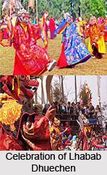 Lhabab Dhuechen Festival