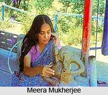 Meera Mukherjee, Indian Sculptor