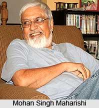 Mohan Singh Maharishi, Indian Theatre Personality