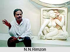 N.N.Rimzon, Indian sculptor
