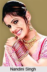 Nandini Singh , Indian TV Actress