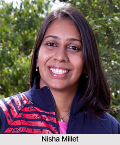 Nisha Millet, Indian Swimmer