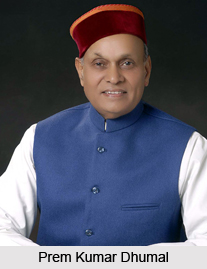Prem Kumar Dhumal, Chief Minister of Himachal Pradesh