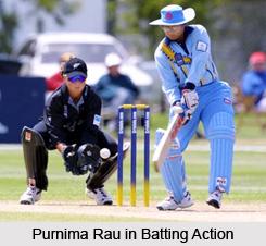 Purnima Rau, Indian Woman Cricketer