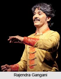 Rajendra Gangani, Indian Kathak Dancer