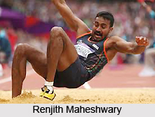 Renjith Maheshwary, Indian Athlete
