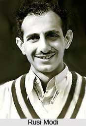 Rusi Modi, Indian Cricket Player