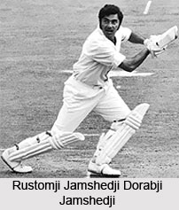Rustomji Jamshedji Dorabji Jamshedji, Indian Cricket Player