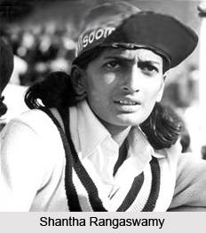 Shantha Rangaswamy, Indian Woman Cricketer