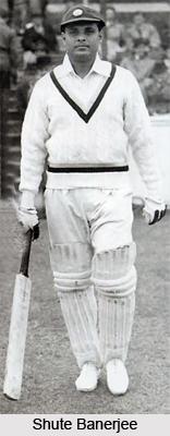 Shute Banerjee, Former Indian Cricket Player