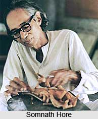 Somnath Hore, Indian Sculptor