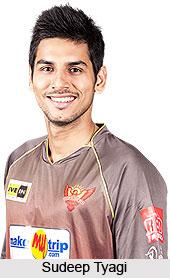 Sudeep Tyagi, Indian Cricket Player