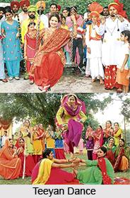 Teeyan Dance, Punjab