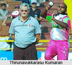 Thirunavukkarasu Kumaran , Former Indian Cricket Player