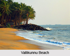 Vallikunnu Beach, Mallapuram District, Kerala