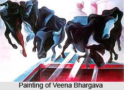 Veena Bhargava, Indian artist