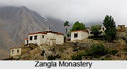 Zangla Monastery, Zangla, Kargil, Jammu & Kashmir