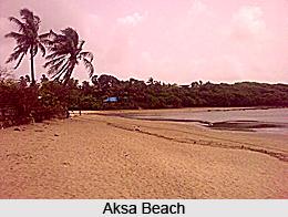Aksa Beach, Maharashtra
