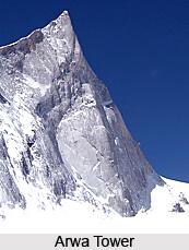 Arwa Group of Mountain Peaks, Uttarakhand
