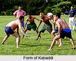 Forms of Kabaddi