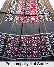 Pochampally Ikat Sarees, Sarees of South India