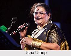 Usha Uthup, Indian Singer