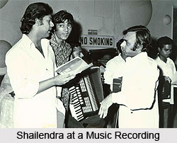 Shailendra, Indian Movie Lyricist