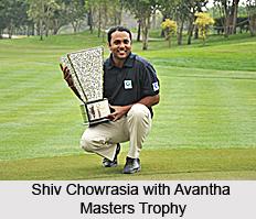 Shiv Chowrasia, Indian Golfer