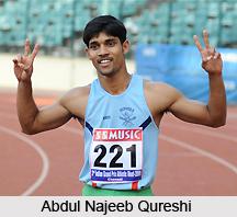 Abdul Najeeb Qureshi, Indian Sprinter