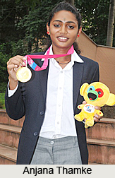Anjana Thamke, Indian Mid Distance Runner