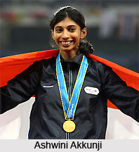 Ashwini Akkunji, Indian Sprint Athlete