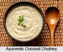Ayurvedic  Coconut Chutney
