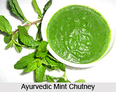 Ayurvedic Mint chutney