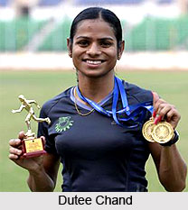 Dutee Chand, Indian Sprinter