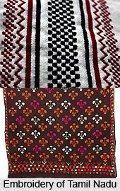 Embroidery of Tamil Nadu