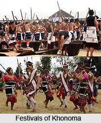 Festivals of Khonoma, Nagaland
