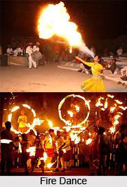 Fire Dance, Folk Dance of Rajasthan