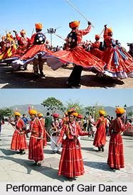 Gair Dance, Folk Dance of Rajasthan