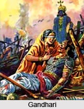 Gandhari , Mahabharat