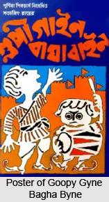 Goopy Gyne Bagha Byne, Indian Movie