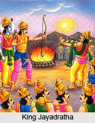 Jayadratha, King Of Sindhu